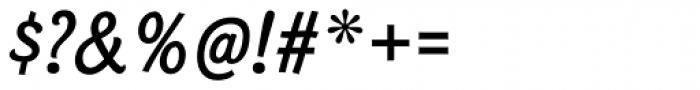 Bonobo SemiBold Italic Font OTHER CHARS