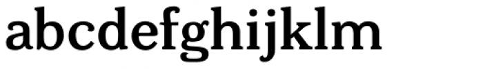 Bonobo SemiBold Font LOWERCASE