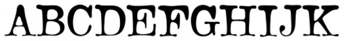Bonsai Font UPPERCASE