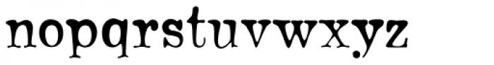 Bonsai Font LOWERCASE