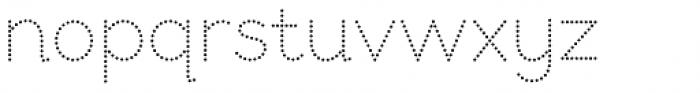 Bookbag Alt Dotted Font LOWERCASE
