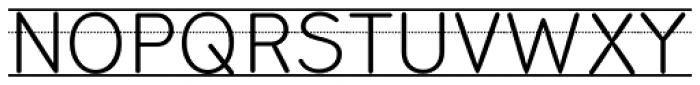Bookbag Alt Lined Regular Font UPPERCASE