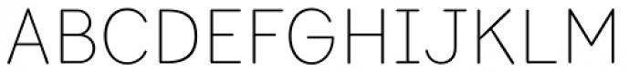 Bookbag Light Font UPPERCASE