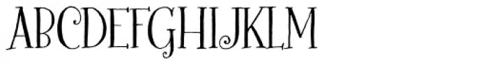 Bookeyed Martin Font UPPERCASE