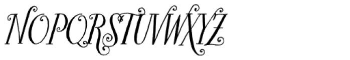 Bookeyed Sadie Font UPPERCASE