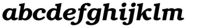 Bookman Demi Italic Font LOWERCASE