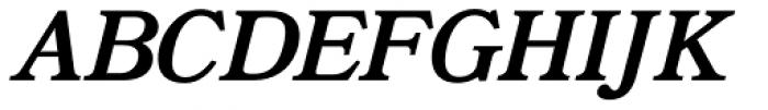 Bookman JF Pro Italic Font UPPERCASE