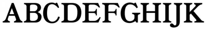 Bookman JF Pro Roman Font UPPERCASE