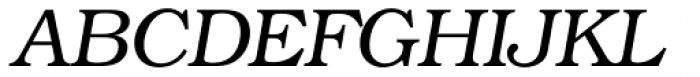 Bookman Light Italic Font UPPERCASE