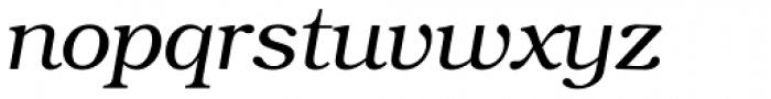 Bookman Light Italic Font LOWERCASE