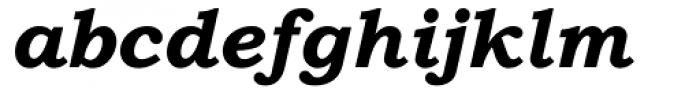Bookman Old Style Paneuropean WGL Bold Italic Font LOWERCASE