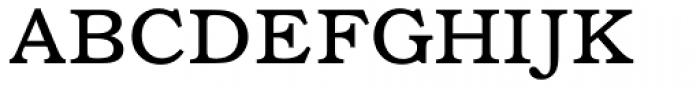 Bookman Font UPPERCASE