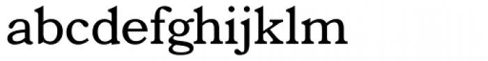 Bookman Font LOWERCASE