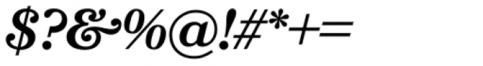 Bookmania SemiBold Italic Font OTHER CHARS