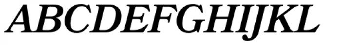 Bookmania SemiBold Italic Font UPPERCASE