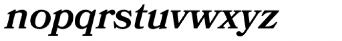 Bookmania SemiBold Italic Font LOWERCASE