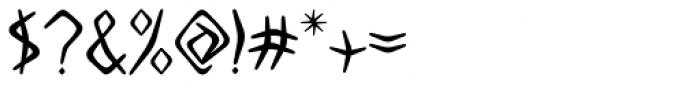 Boomerang JY Medium Font OTHER CHARS