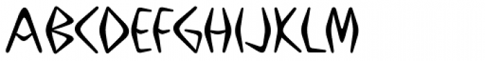 Boomerang JY Medium Font UPPERCASE