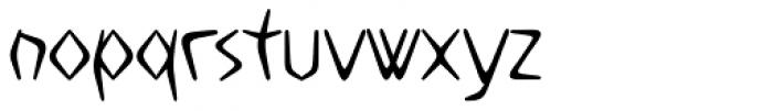 Boomerang JY Medium Font LOWERCASE