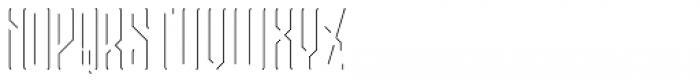 Bootleggers Lines Regular Font UPPERCASE