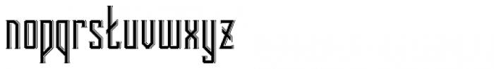 Bootleggers Regular Font LOWERCASE