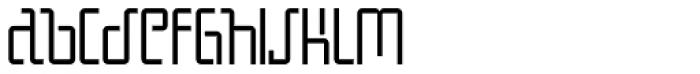Boqueta Light Font LOWERCASE