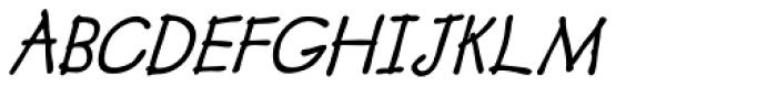 Boracho Bold Italic Font UPPERCASE