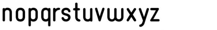 Borba Black Font LOWERCASE