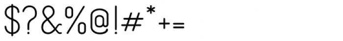 Borba Sans Medium Font OTHER CHARS