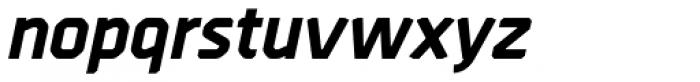 Borda ExtraBold Italic Font LOWERCASE