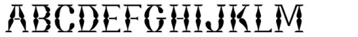 Bordeaux Font UPPERCASE