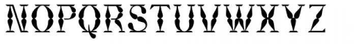 Bordeaux Font LOWERCASE