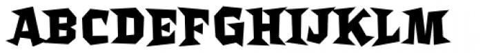 Bordello Bold Font UPPERCASE