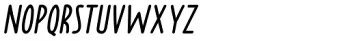 Borden italique Font UPPERCASE