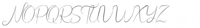 Bordershine Script Script Font UPPERCASE