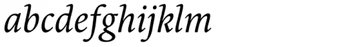 Borges Blanca Italica Font LOWERCASE