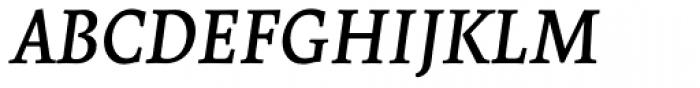 Borges Gris Italica Font UPPERCASE