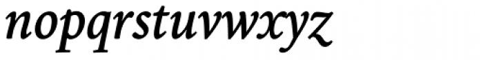Borges Gris Italica Font LOWERCASE