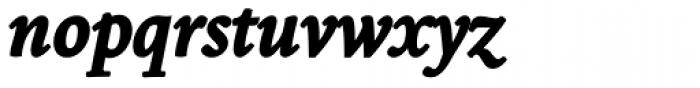 Borges Super Negra Italica Font LOWERCASE