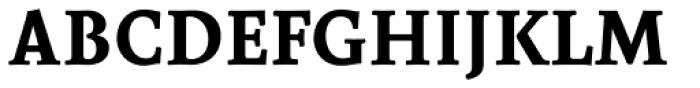 Borges SuperNegra Font UPPERCASE