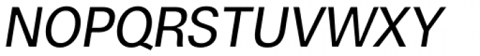 Boring Sans A Italic Font UPPERCASE