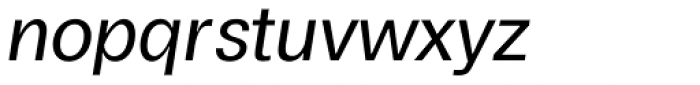 Boring Sans A Italic Font LOWERCASE