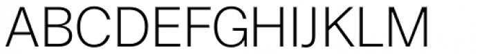 Boring Sans A Light Font UPPERCASE