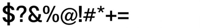 Boring Sans A Medium Font OTHER CHARS