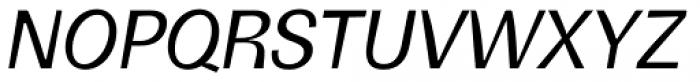 Boring Sans B Italic Font UPPERCASE