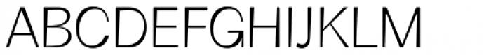 Boring Sans B Light Font UPPERCASE