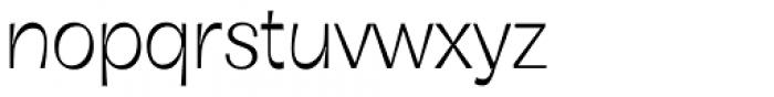 Boring Sans B Light Font LOWERCASE