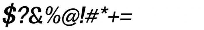 Boring Sans B Medium Italic Font OTHER CHARS