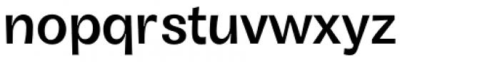 Boring Sans B Medium Font LOWERCASE