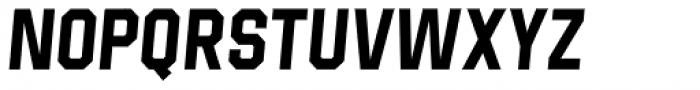 Born Strong Bold Italic Font UPPERCASE
